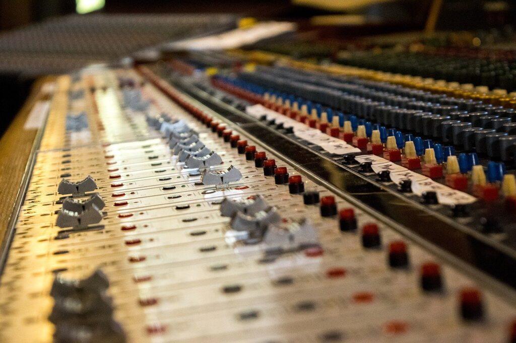 music, soundboard, recording